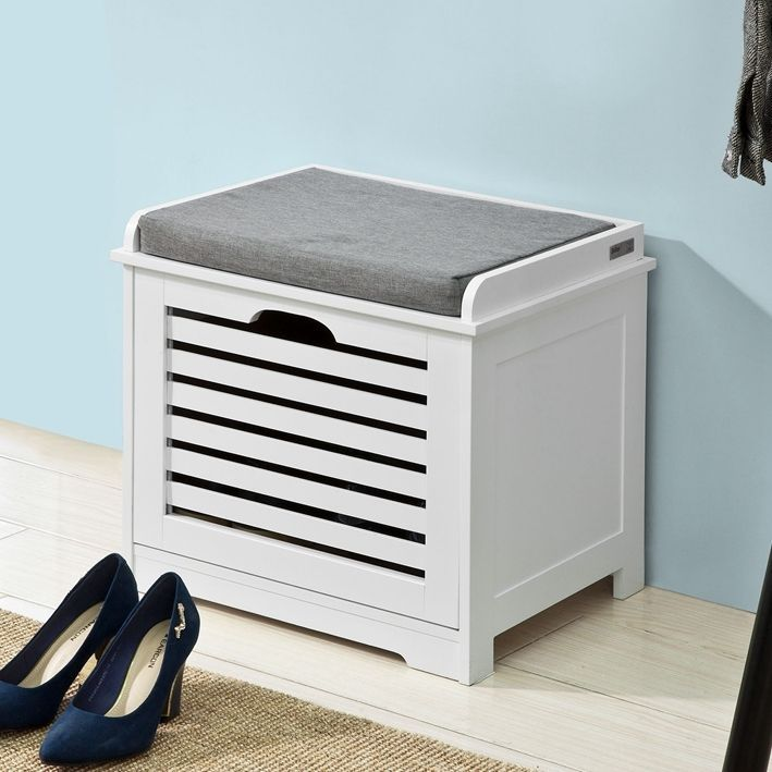 SoBuy Storage Bench with Drawer Shoe Cabinet