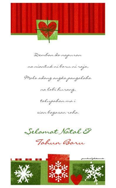 Ucapan Natal Batak