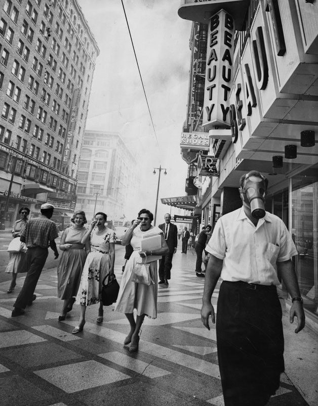 Photos L.A.'s midcentury smog was so bad, people thought