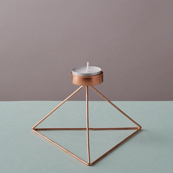Best 20+ Copper candle holders ideas on Pinterest | Wood ...