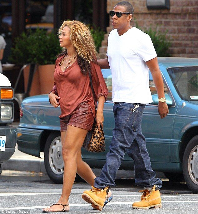 Jay-Z stepping out with Beyonce in his Timberland boots. Get into your own pair of Timberland's here http://mammothworkwear.com/timberland-nonsafety-work-boot-p920.htm