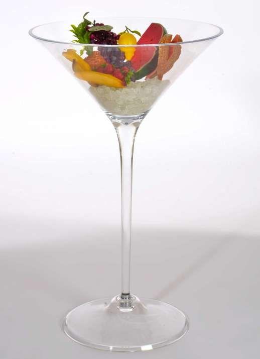 Riesen-Cocktailglas 96x60 cm (H/Ø)