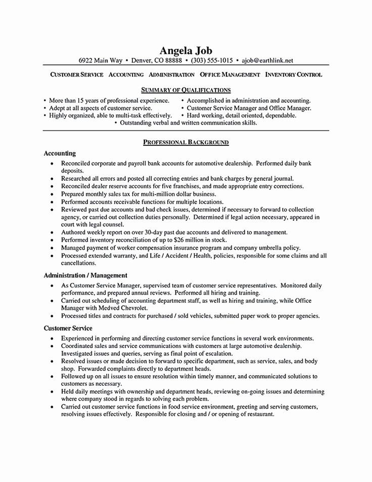 25 Customer Success Manager Resume in 2020 Customer
