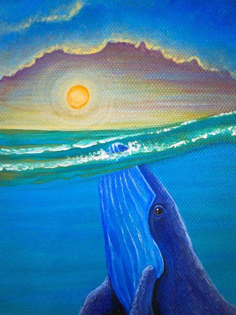 Water medicine - Acrylic on Canvas - 30 x 60 cm  (Detail)