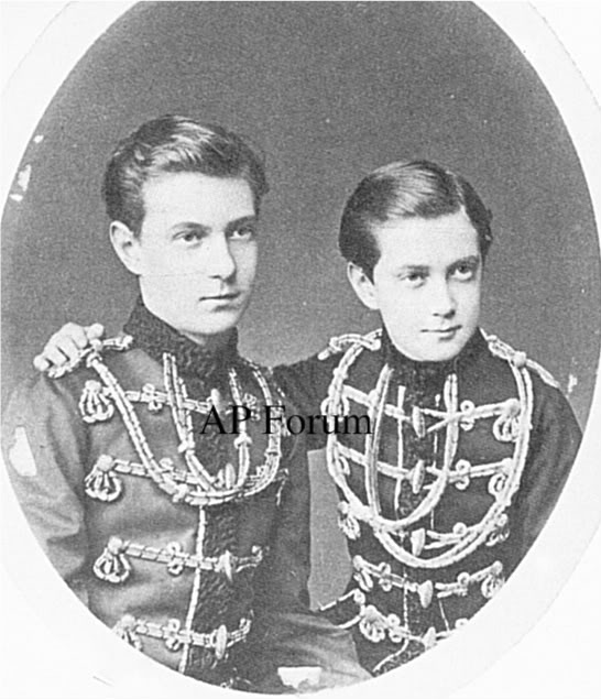 Grand Duke Sergei Alexandrovitch and Grand Duke Paul Alexandrovitch