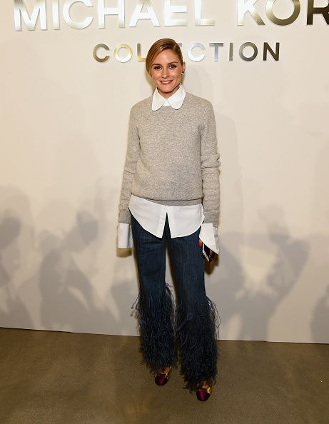 Olivia Palermo attends the Michael Kors Spring 2017 Runway Show during New York fashion week at Spring Studios on September 14 2016 in New York City