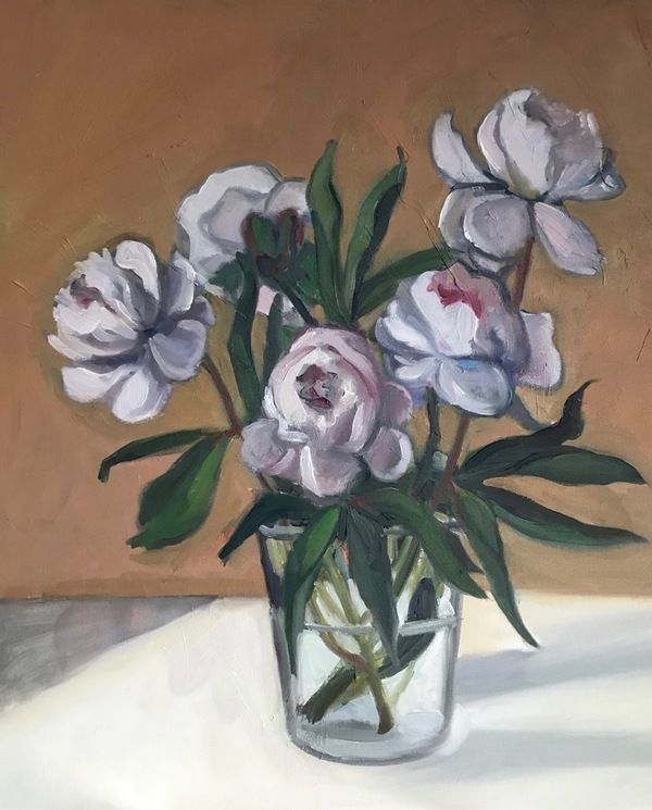 Peonies by Marie Freudenberger on Artfully Walls