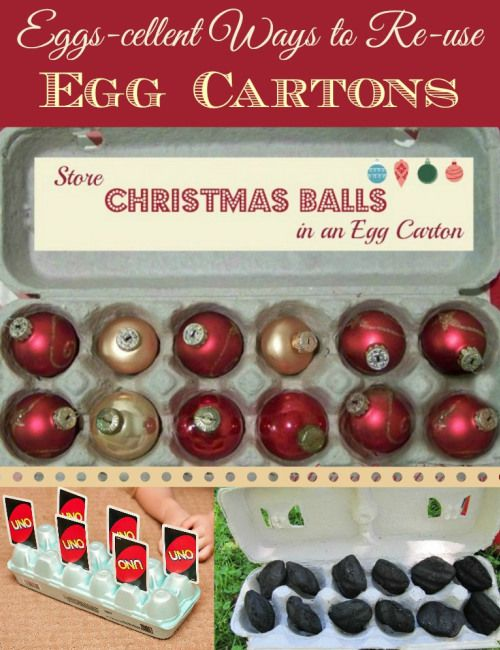 28 best new uses for old things egg carton images on for Christmas decorations using egg cartons