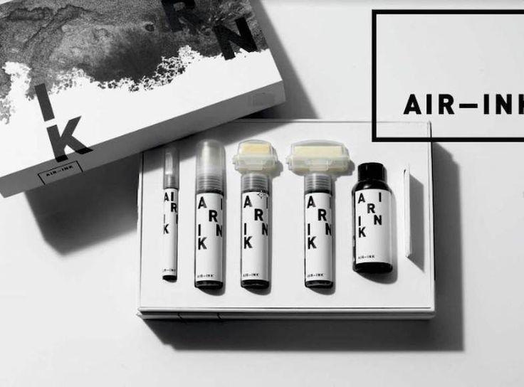大気汚染を可視化すべくGravity Labsが開発した、大気汚染から作られたインク「AIR-INK」がクラウドファンディングサイトのKickstarterにて資金集めに成功しました。