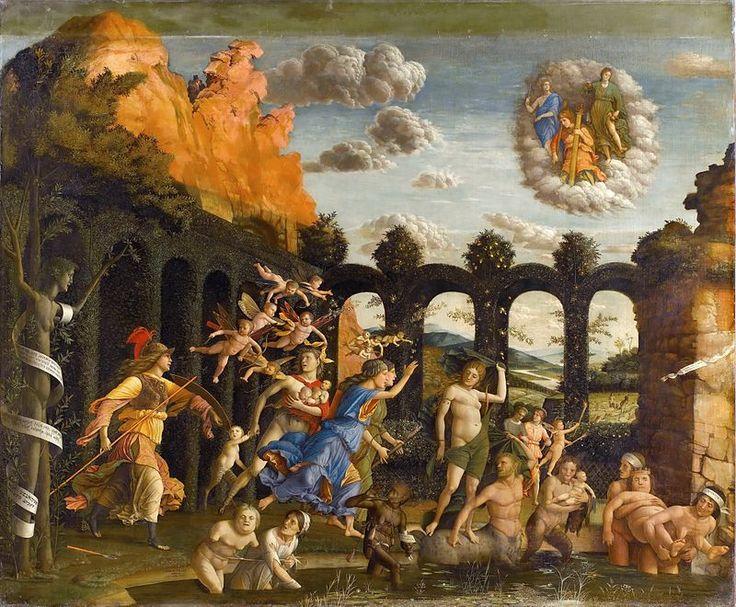 82. 1499-1502 - Trionfo della Virtù (Minerva caccia i Vizi dal giardino delle Virtù) - Parigi, Louvre