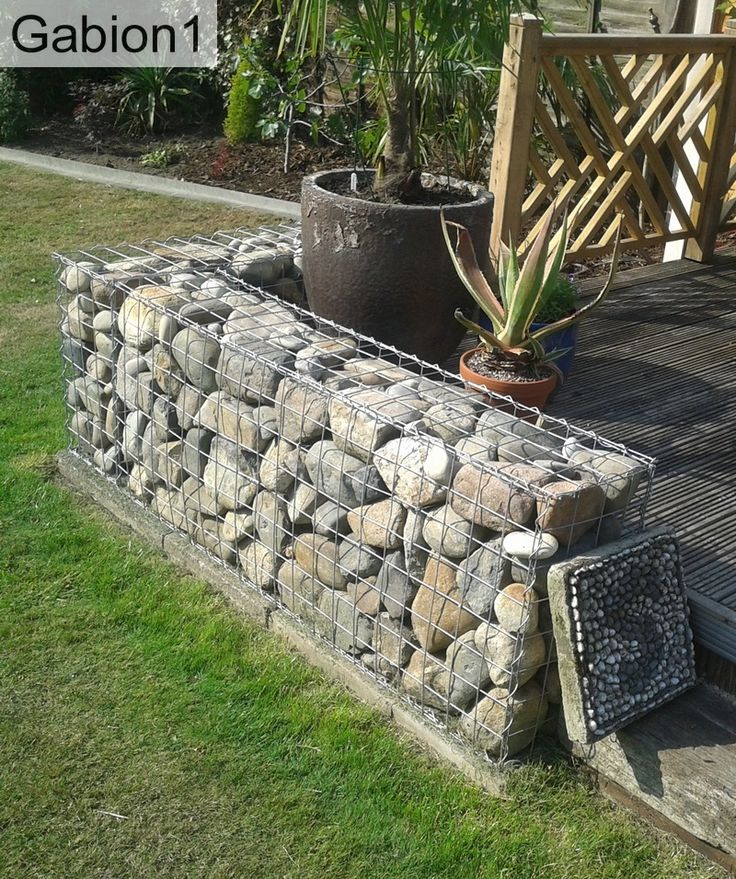 21 best images about retaining walls on pinterest for Gabion landscaping