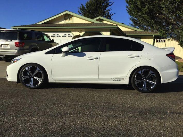 Jeremey S 2015 Honda Civic Si On D2 Lowering Springs