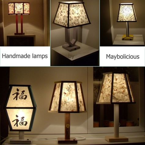 Picture of How to make handmade night lamps.