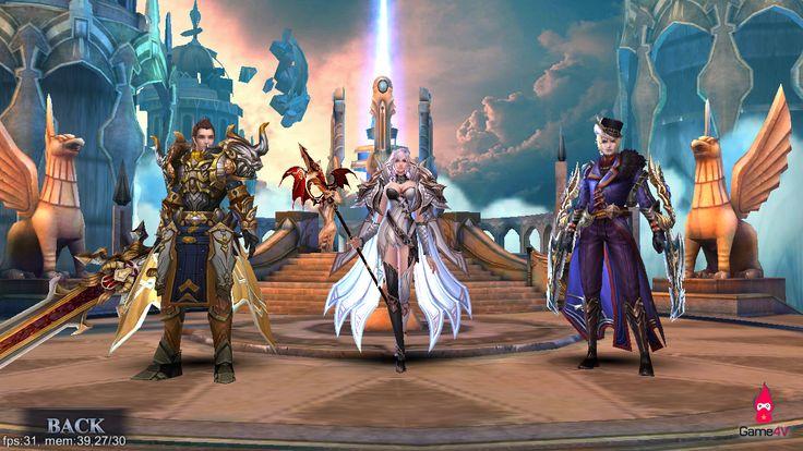 Heroes Of Dawn chính thức ra mắt bản Open Beta ~ Game hot 247