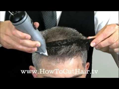 Clipper Cutting - Flat Top Haircut