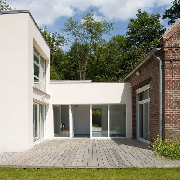 8 best relier les deux maisons images on Pinterest Home ideas - maison avec toit en verre