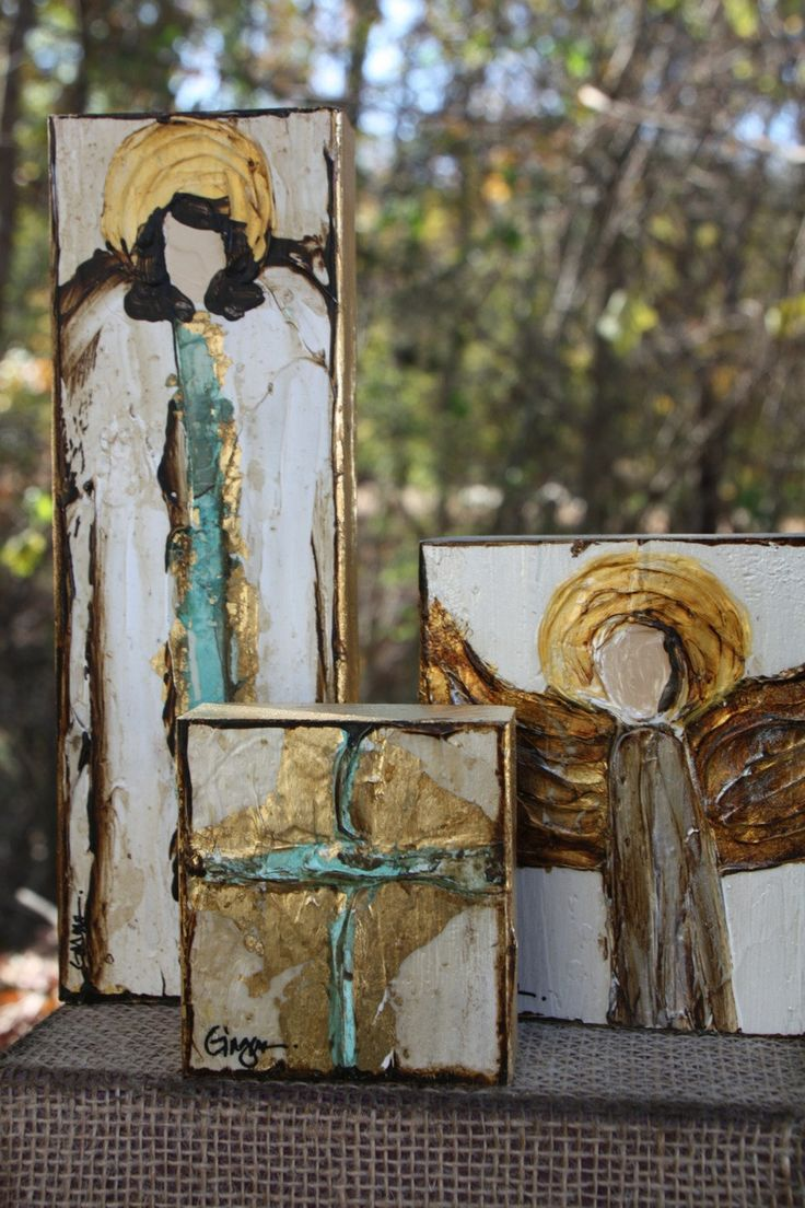 Besides cross clip art wall decor decorative wood cross decorative - Ginger Leigh Designs Large Tall Angel