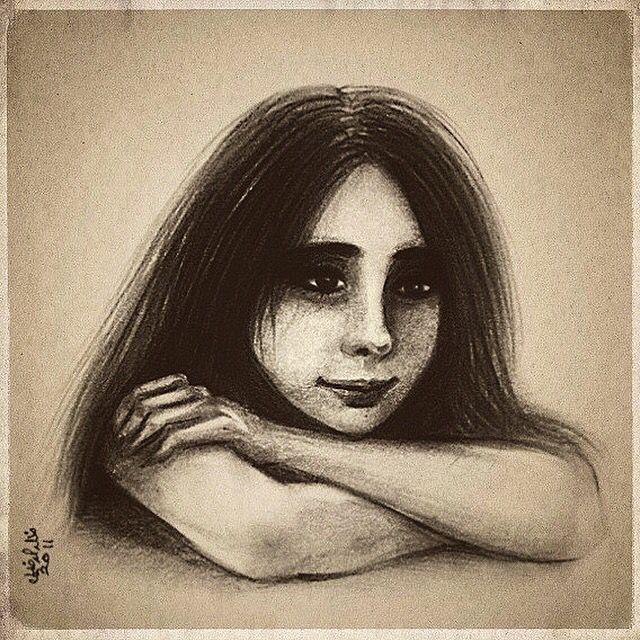 Memories by Khalid al Dakheel #artwork #sketch #drawing #illustration #cartoon