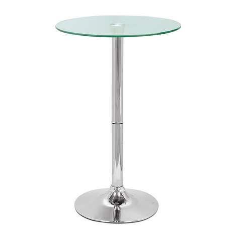 Galaxy Glass Bar Table
