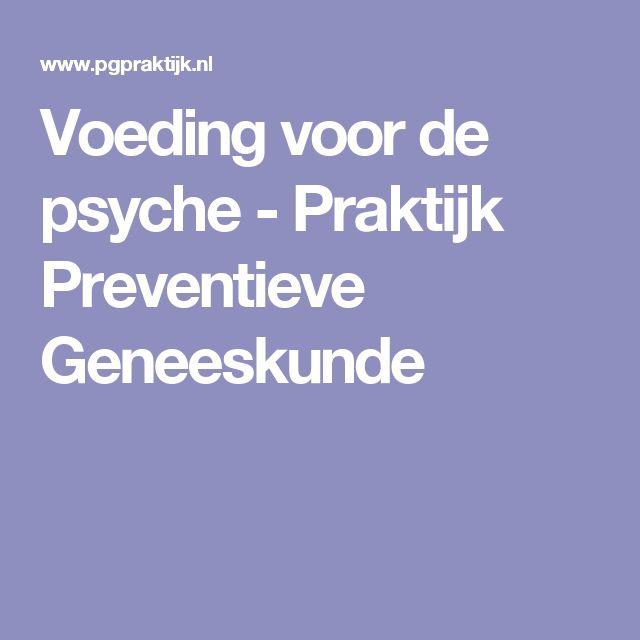 Voeding voor de psyche - Praktijk Preventieve Geneeskunde