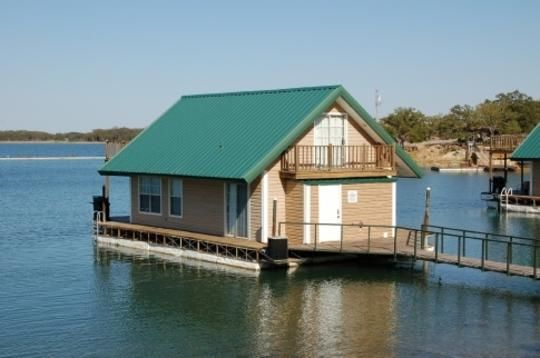 Lake murray floating cabins oklahoma chickasawcountry for Camping cabins in oklahoma