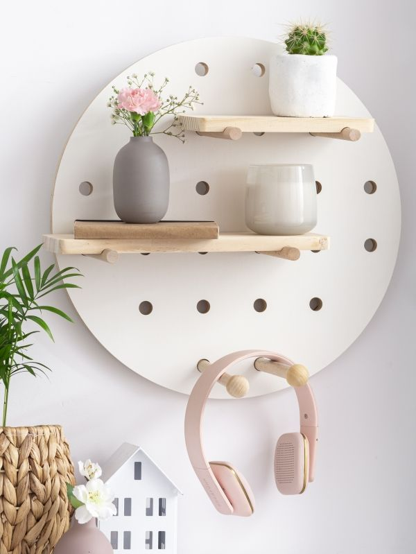 Smukee Drewniana Polka Dekoracyjna Smukee Decorative Tray Decor Home Decor
