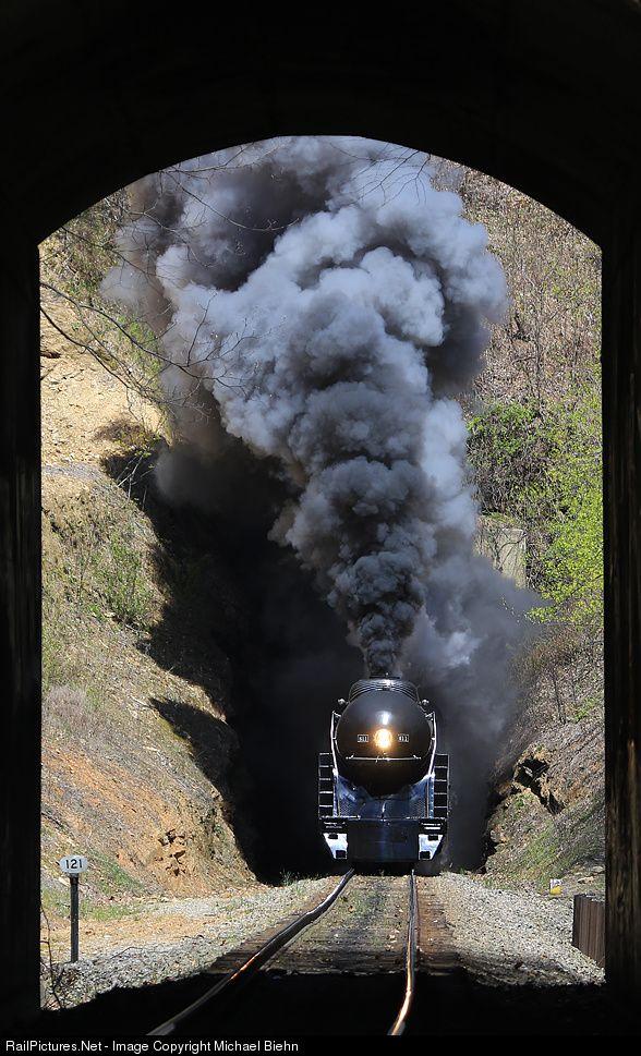 RailPictures.Net Photo: NW 611 Norfolk & Western Steam 4-8-4 at Ridgecrest, North Carolina by Michael Biehn