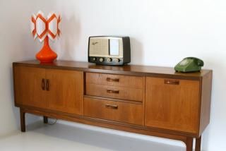 G-plan sideboard 1960. Product code F-49. retroandvintagefurniture.co.uk. £420.