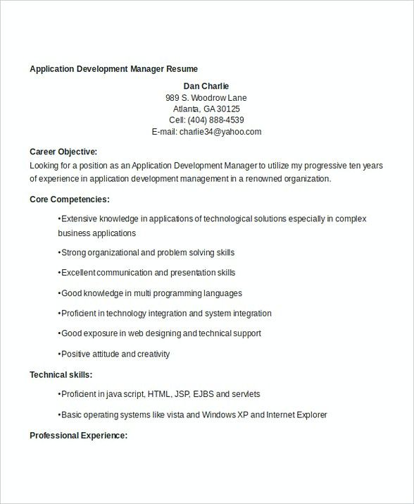 Application Development Manager Resume , Bank Branch Manager Resume , This Bank Branch Manager resume is beneficial for those who want to apply for the position. Check this article to get the information about the job resume. Check more at http://templatedocs.net/bank-branch-manager-resume