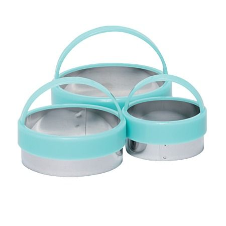 Allyson Gofton Cookie Cutters Round Set of 3
