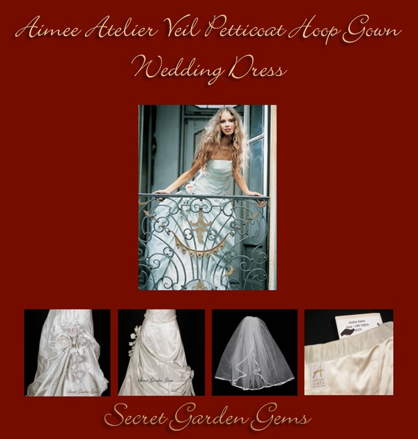 #AIMEE #ATELIER #Wedding #Dress  Noble and artistic yet pure and romantic styles combined with meticulous attention to detail, Atelier Aimee wedding gowns are considered the most distinctive and unique gowns available. From   #Secret GardenGems  #SYLink