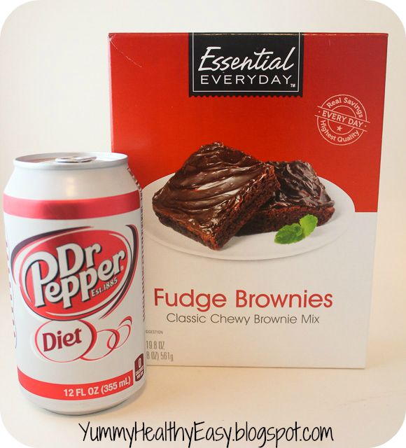 Yummy. Healthy. Easy.: {Low Fat} Diet Dr. Pepper Brownies!!!