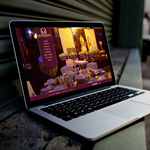 Grand Rose Düğün Salonu - Website Tasarımı - Web Design  - Wedding Hall