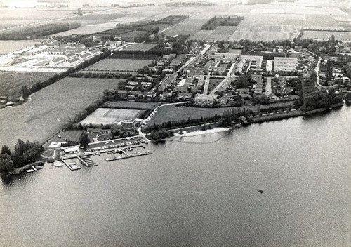 Luchtfoto's Mijnsheerenland (jaartal: 1960 tot 1970) - Foto's SERC