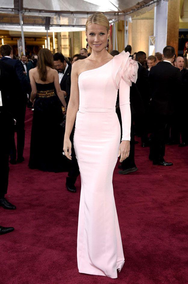 Gwyneth Paltrow en Ralph & Russo. | Estos son los mejores vestidos que vimos en la alfombra roja de los premios Oscar 2015