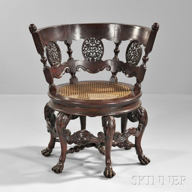 Dutch Colonial Burgermeister Chair   Sale 2875B  Lot 647   Skinner  Auctioneers   4 305  Colonial FurnitureAntique. 113 best Antiques images on Pinterest   Antique furniture  Antique
