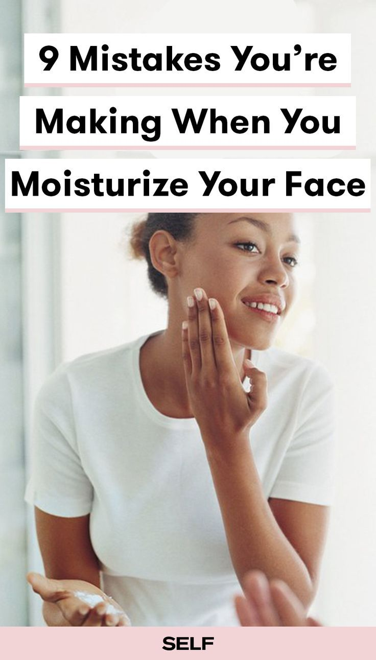 Mistakes Youure Making When You Moisturize Your Face  Dry skin