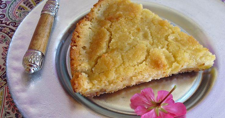 Postres, repostería, tarta manzana francesa, tarta de manzana fina, tarta de manzana crujiente