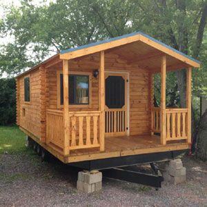 Keystone kabins log cabin kits park model cabins for Metal cabin kits