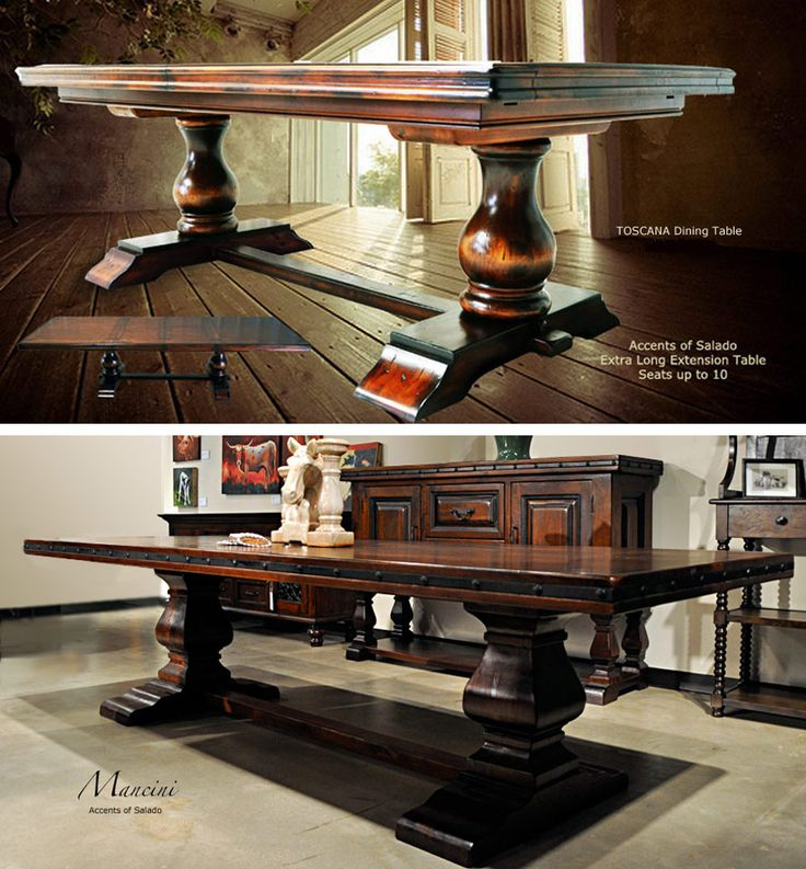 Tuscan Style Dining Room Tables At Accents Of Salado