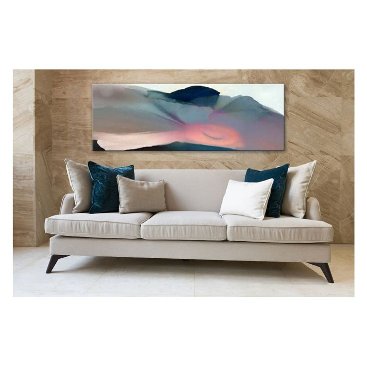 Stretch Of Light | Hand Painted Canvas ArtworkThe Block Shop - Channel 9