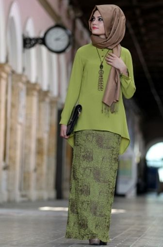 Model Kebaya Muslim Simple Terbaru