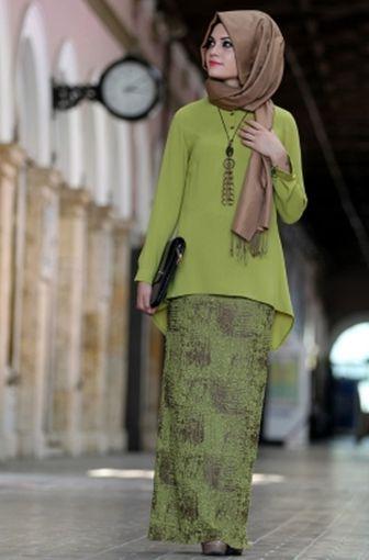 Model Kebaya Muslim Simple Terbaru