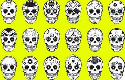 Melhores desenhos de caveira mexicana