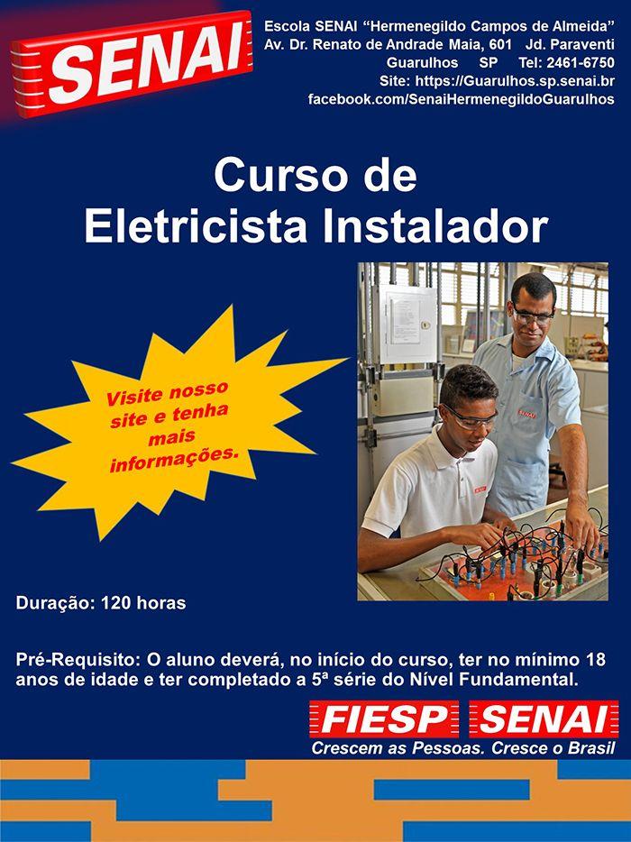 CURSO DE ELETRICISTA INSTALADOR