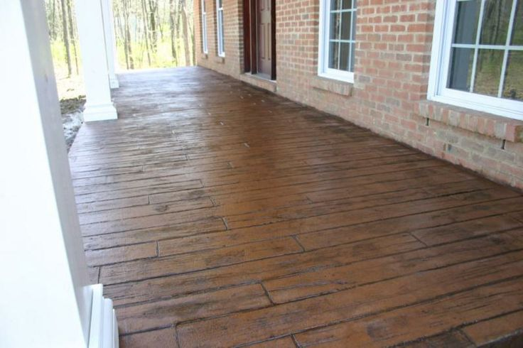 Stamped Concrete Patterns Patio