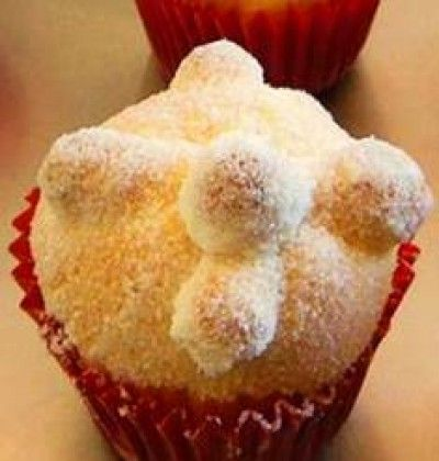 "This cupcake would be perfect to celebrate ""The Day of the Death "", or as we call it ""El Día de Muertos"" or Hanal-Pixan in maya. ""El Pan de Muerto"" is a traditional bread eaten in this festivities."