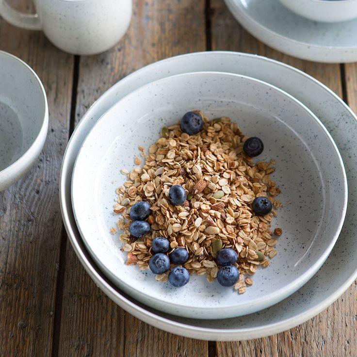 Speckle Dinnerware | Tara Dennis | Aquitaine Speckle Bowl Medium