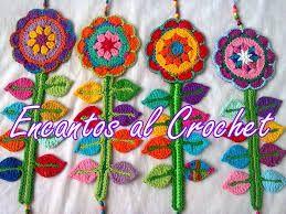 Resultado de imagen para flor crochet
