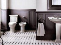 Devon&Devon, Umywalka na nodze Westminster, WC monoblok i bidet